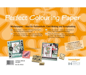 Папка д/маркеров COPIC Perfect Colouring А4 250гр 10л