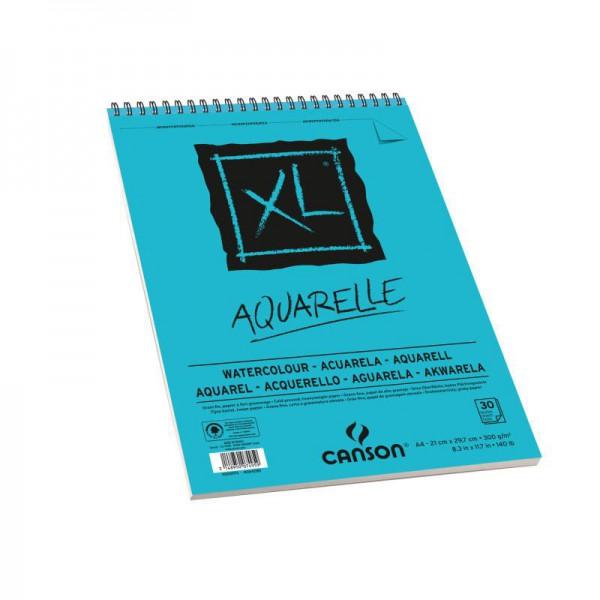 Альбом для акварели CANSON XL Aquarelle, А4 300гр/м 30л, спираль