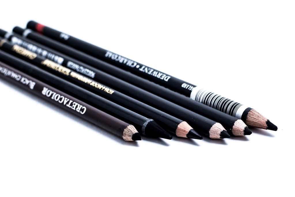 Уголь в карандашах