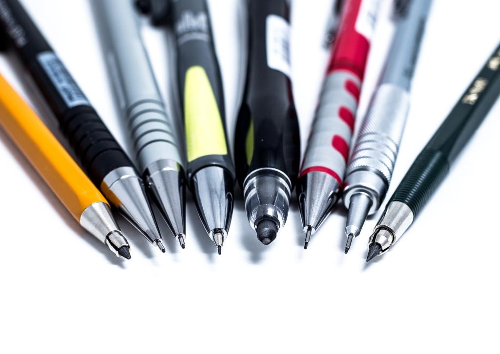 Механические и цанговые карандаши
