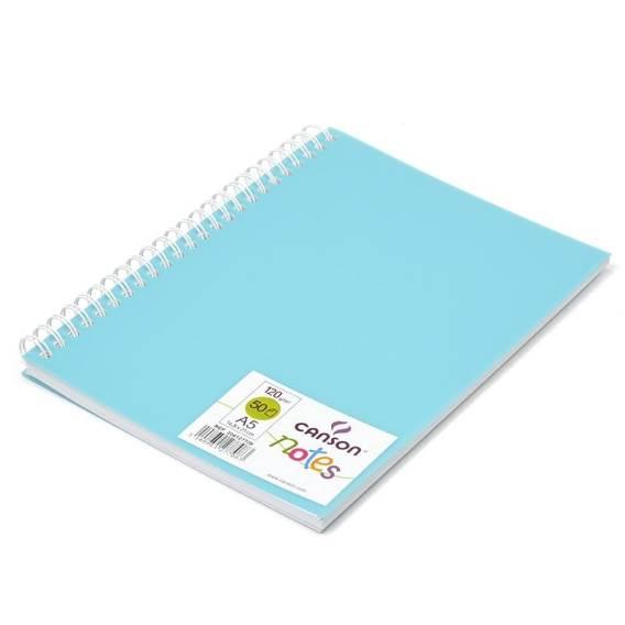 Блокнот для графики CANSON Notes А5 120гр/м 50 листов (голубой)