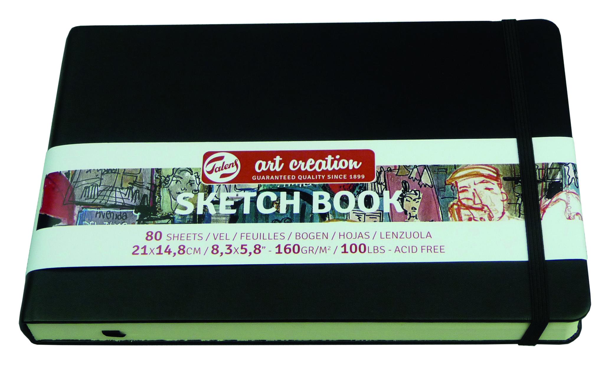 Блокнот ART CREATION А5 160гр/м, 80л, переплет