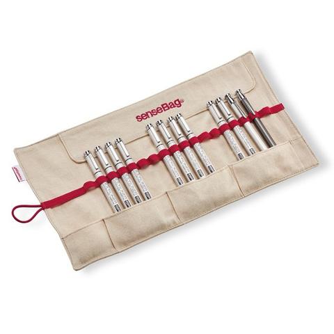 Пенал SENSE BAG бежевый пустой, для 18 маркеров