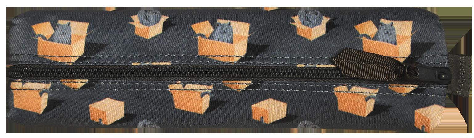 Пенал ORZ-DESIGN Коты в коробках (текстиль)