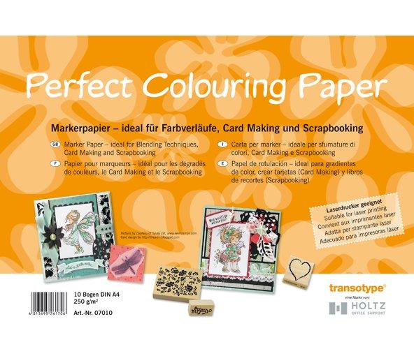 Папка д/маркеров COPIC Perfect Colouring А4 250гр 10л