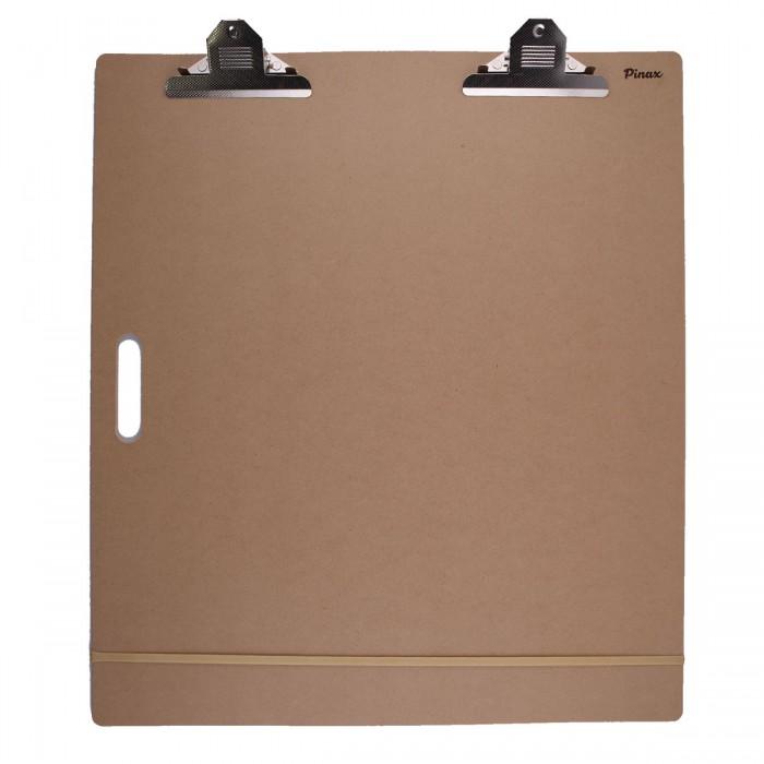 Папка-планшет PINAX 45х45см с зажимом и резинкой