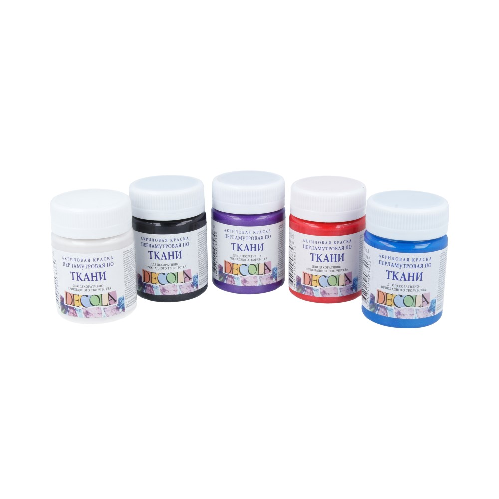 Штучно краски по ткани DECOLA (акриловые)