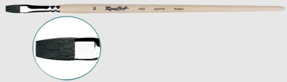 Серия 1422 (белка, плоская, длинная ручка)