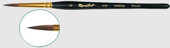 Серия 111F (колонок, круглая, короткая фигурная ручка)