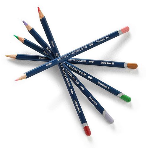 Акварельные карандаши DERWENT WaterColor
