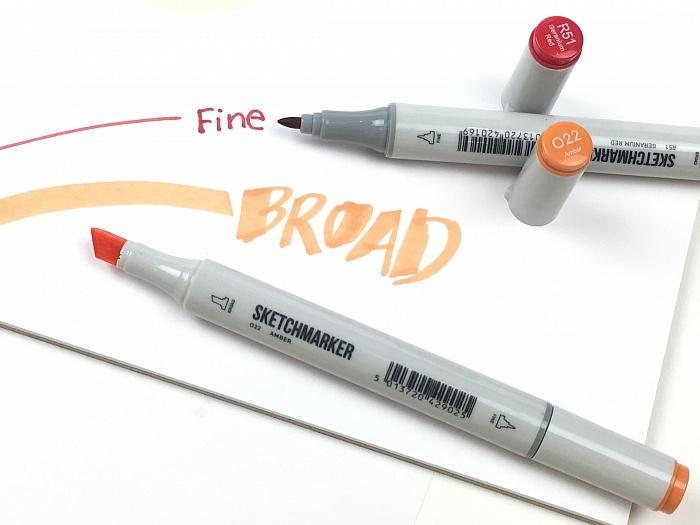 Штучные спиртовые маркеры Sketchmarker