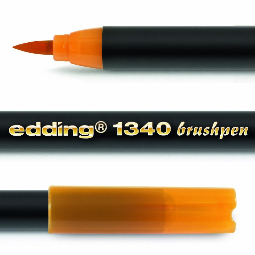 Брашпены EDDING Серия 1340