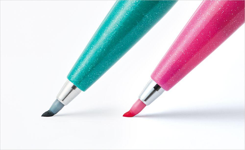 PENTEL Sign Pen (брашпены с жестким пером)