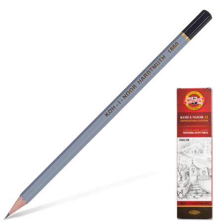Чернографитные карандаши KOH-I-NOOR 1860