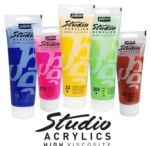 Акриловые краски PEBEO Studio
