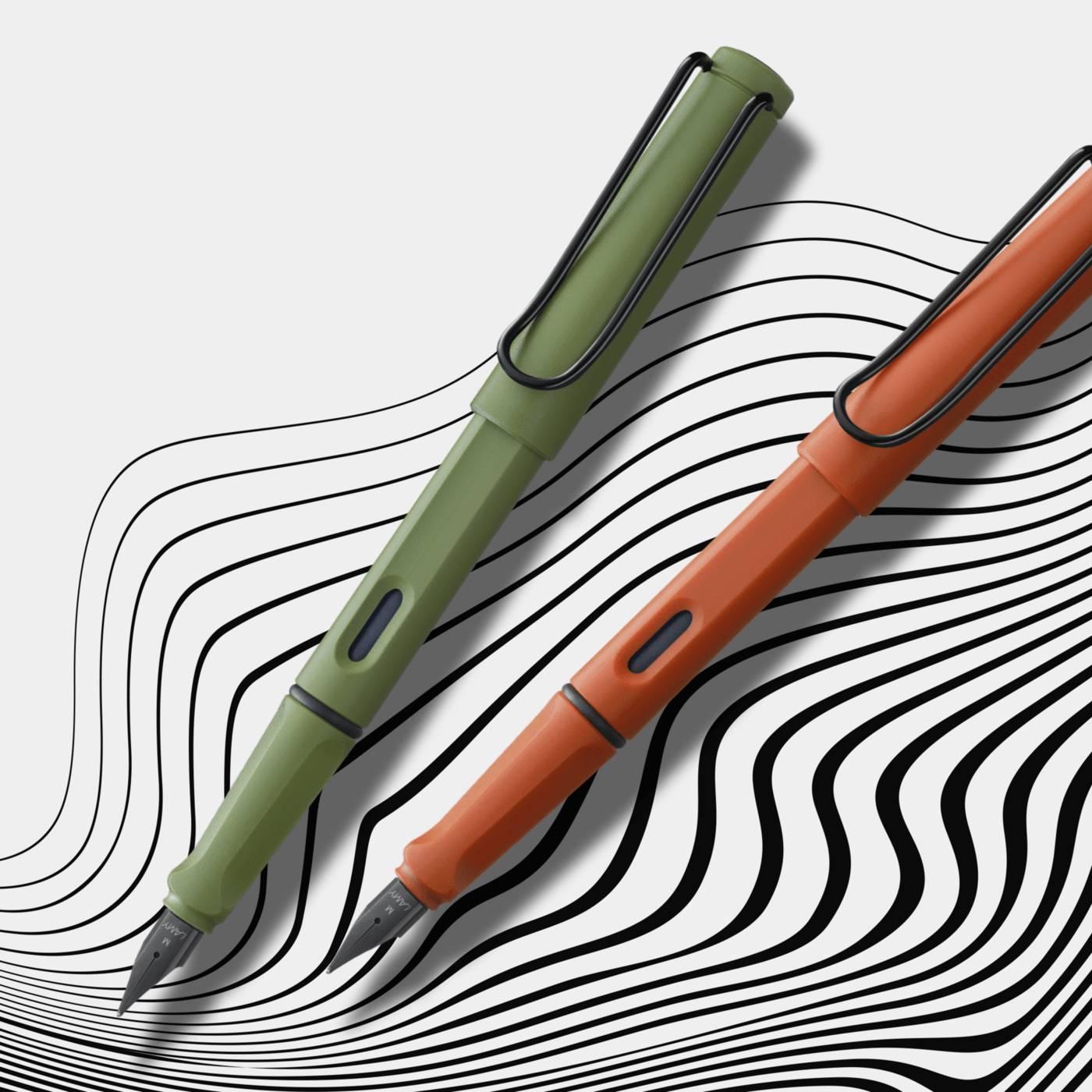 Перьевые ручки LAMY Safari