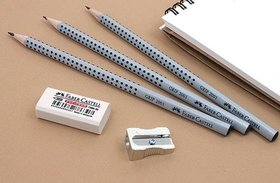 Чернографитные карандаши FABER-CASTELL Grip 2001