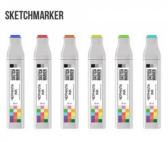 Заправки для спиртовых маркеров SKETCHMARKER 20мл